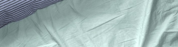 pillow and sheet