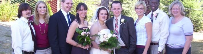ICA Crew at Josh & Anna's Wedding