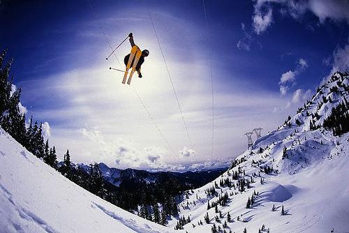 ski jump, King County, WA