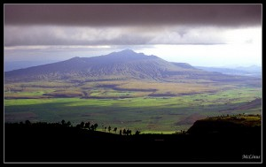 Thunder clouds and the Great Rift Valley