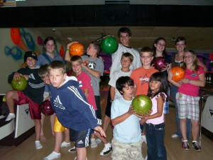 Bowling with the Middle Schoolers