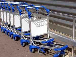 baggage cart