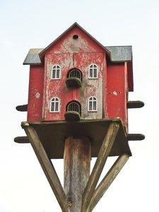 bird house for doves