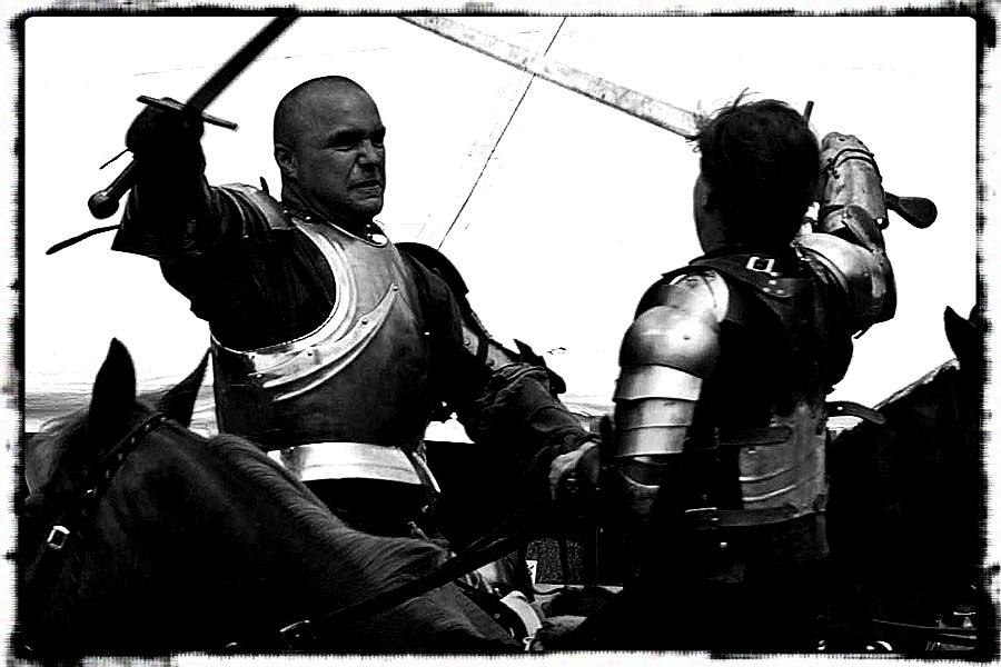knights clashing