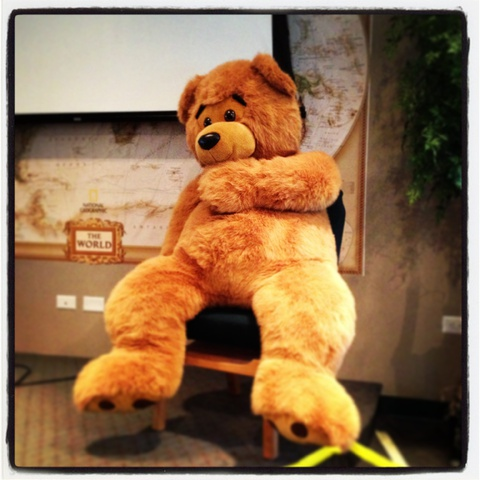 ted in chapel