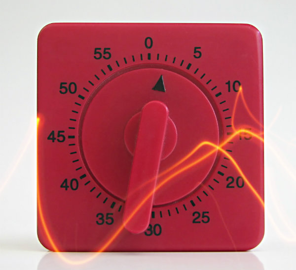 red timer